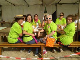 Equipe de bénévoles au CEC de Plédéliac.